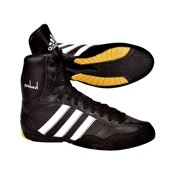 Adidas Pro Bout Boxing Shoes