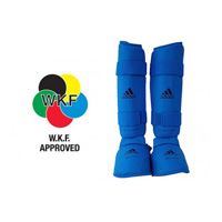 Adidas WKF Shin and Removable Instep Pad
