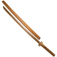 Hardwood Bokken with Wooden Scabbard - Daito