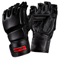 Century Men's Leather Wrap Gloves with Clinch Strap