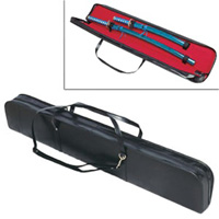 Deluxe Sword Case - Black w/Zipper