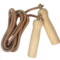 Fighter Genuine Leather Speed Rope