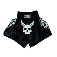 Fighter Thai Trunks - Skull
