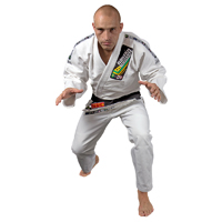 Fighter Single Weave Brazilian Jiu Jitsu Uniform