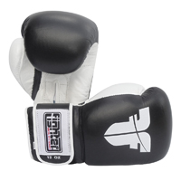 Fighter Boxing Gloves - Black/White