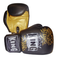 King Professional Boxing Gloves - Velcro