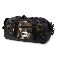 King Professional Camo Gym Bag