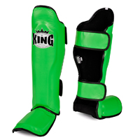 King Leather Profi Shin Instep Guards