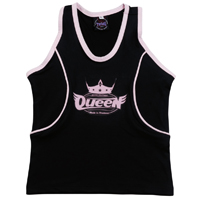 Queen Lady Top - Black