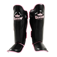 Queen Professional Shin Instep Guards