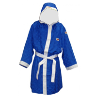 Top Ten Boxing Robe AA - Blue/White