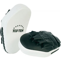 Top Ten Focus Mitts - White/Black