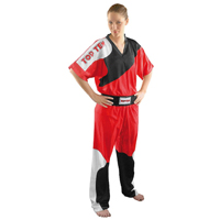 Top Ten Elite Fight Uniform - Red/Black/White