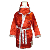 Top Ten Boxing Robe - Red/White