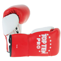 Top Ten Competition Gloves Pro - White Thumb