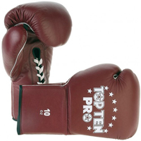 Top Ten Pro Competition Gloves - Horsehair Padding