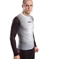 Top Ten MMA Rashguard - Gradient