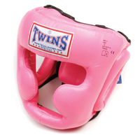 Twins Sparring Headguard - Pink