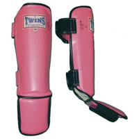 Twins Shin Instep Guards - Pink