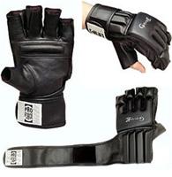 ProForce Gladiator Wristwrap Grappling Gloves