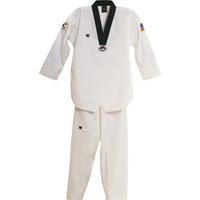 GTMA Challenger Taekwondo Uniform - White