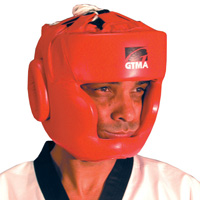 GTMA Leather Headgear