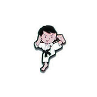 Judo Kick Pin