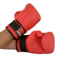 GTMA Vinyl Fitness Glove - Red