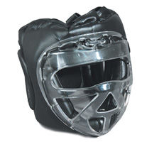 GTMA Vinyl Headgear w/ Clear Cage