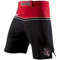 Hayabusa Sport Training Shorts - Red / Black