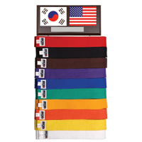 10 Level Adjustable Martial Arts / Karate Belt Rack