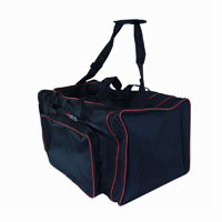 Macho Sports Bag Black With Red Trim