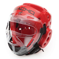 Macho Dyna Headgear Clear Face Shield