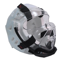 Warrior Headgear Clear Face Shield