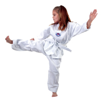 Macho Lightweight 7 oz Taekwondo Student V-Neck Uniform