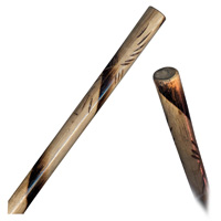 Burnt Rattan Escrima Stick - 1