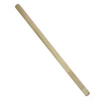 White Oak Grooved Handle Wood Escrima - 1