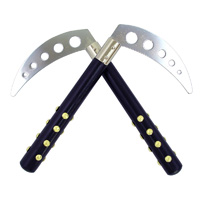 Black Studded Competition Kamas - 10
