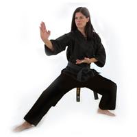 Macho Middleweight Karate Style V-Neck Uniforms