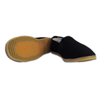 Kung Fu Shoes - Yellow Rubber Sole