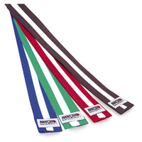 Macho Rank Belts with White Stripe