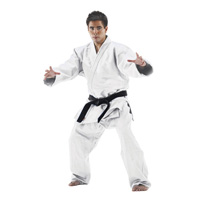 Macho 100% Cotton Single Weave Judo/ Jiu-Jitsu Uniform - White
