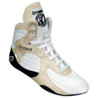 Otomix Stingray Boot Wrestling Shoes - White / Black