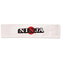 Ninja Headband - White with Sun