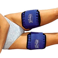 All Pro Thigh Weights - 3 lbs each