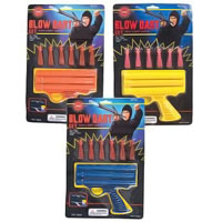 Ninja Blow Dart Gun Toy