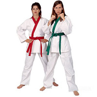 ProForce 8oz GUP Trimmed Tan Soo Do Karate Uniform