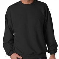 Blank Crewneck Sweatshirt - Black
