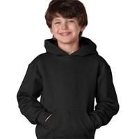 Blank Hooded Sweatshirt - Black