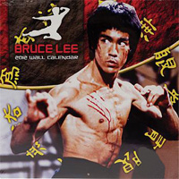 Bruce Lee 2012 16 Month Wall Calendar